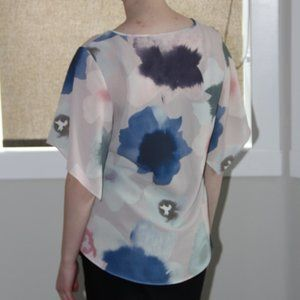 cleo Tops - Short Sleeved Blouse